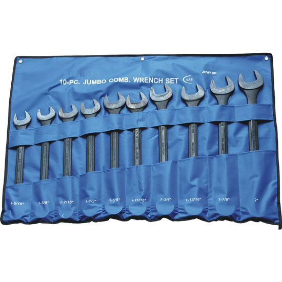 10Pcs Jumbp Combination Wrench Set